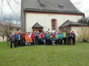 Vorösterliche Pilgerwanderung 2015 Salzburg