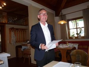 Generalversammlung - Künzing Mai 2018