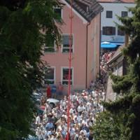 Gemeindebilder Bogen, Kerzenwallfahrt Bogen
