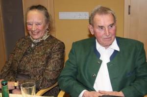 Generalversammlung - Neukirchen vorm Wald 2016, Hans Spatzenegger und seine Frau Sieglinde