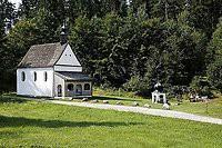 """Gemeindebilder Saldenburg, """"Bründl-Kapelle"""" in Goben (liegt nicht am Pilgerweg)"""