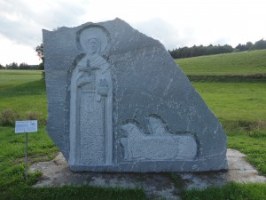 Gemeindebilder Saldenburg, Reliefbild am Brigidaweg in Preying