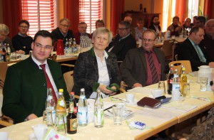Generalversammlung - Neukirchen vorm Wald 2016, Unter den Teilnehmern Ehrengäste, Vertreter der Mitgliedsgemeinden und auch viele Bürgermeister