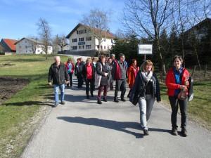 Frühjahrestreffen der VIA NOVA PilgerwegbegleiterInnen in Kirchdorf am Inn