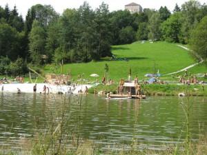 Gemeindebilder Saldenburg, Badesee liegt nicht am Pilgerweg